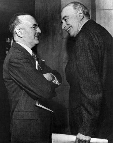Harry Dexter White y John Maynard Keynes
