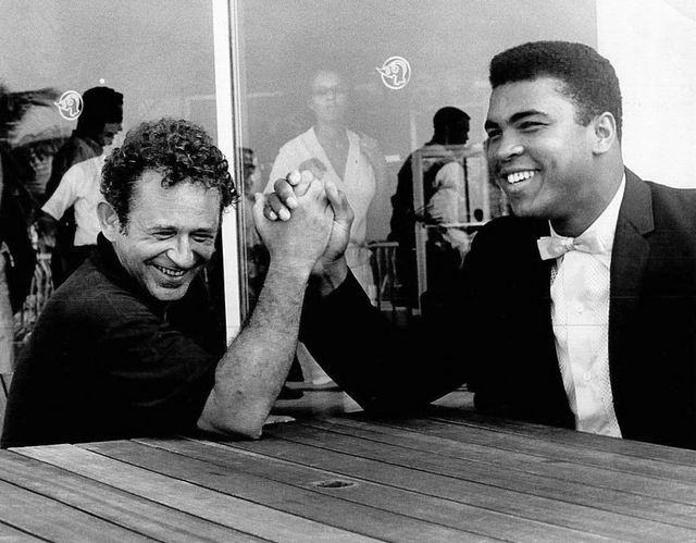 Muhammad Ali pulso contra Norman Mailer