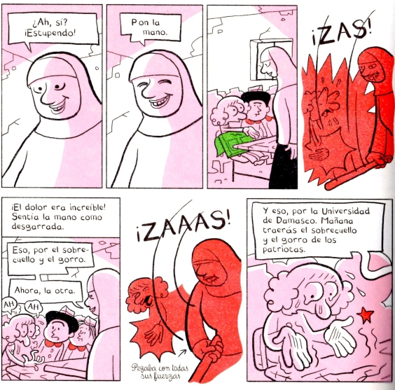 El árabe del futuro la profesora maltratadora