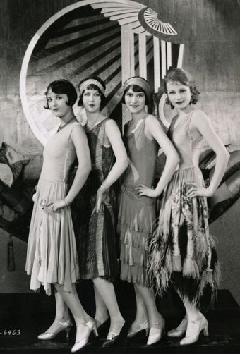 chorus-girls-on-the-set-of-becky-1927-costume-design-by-clement-andre-ani