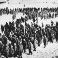 Prisioneros alemanes enStalingrado