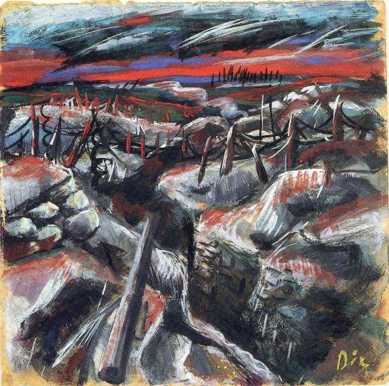 Otto Dix Trinchera