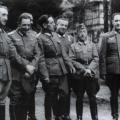 El General Muñoz Grandes y sus seis Coroneles enGrafenwöhr